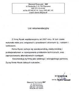 Sławomir Dymowski - IBF